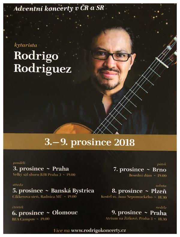 Rodrigo Rodriguez, classical guitarist - promotional poster